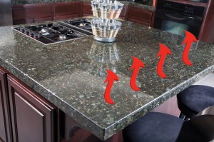 grey granite top